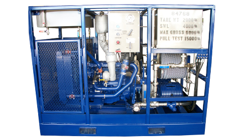 High Pressure Test or Injection Unit